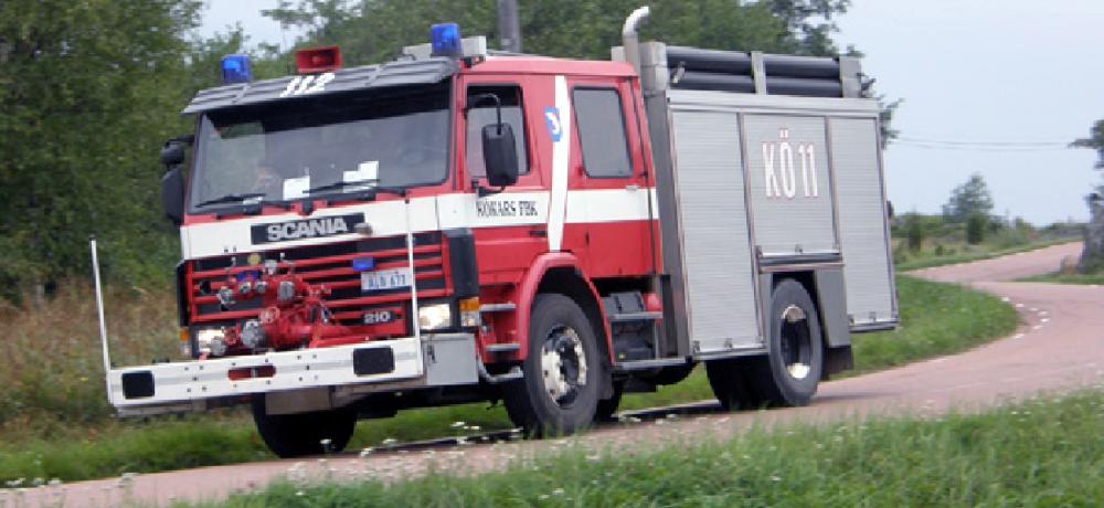 Kökars brandbil